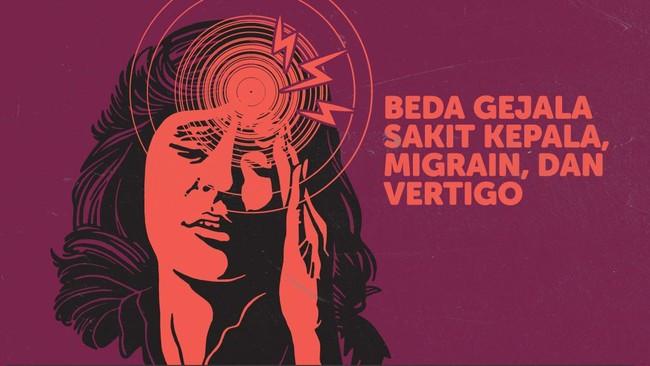 INFOGRAFIS: Beda Sakit Kepala, Migrain, dan Vertigo