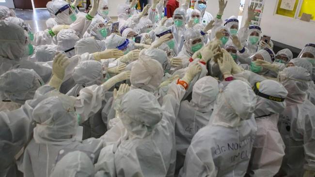 1 Juta Kasus Corona di Indonesia hingga Ledakan di Riyadh