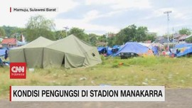 VIDEO: Kondisi Pengungsi di Stadion Manakarra