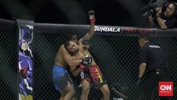 MMA, Adu Ilmu Jotos dan Piting Kembali Naik Daun
