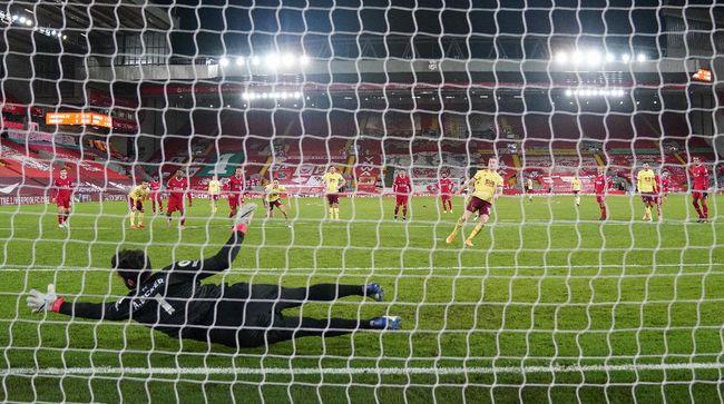Kalah 0-1 dari Burnley di Stadion Anfield membuat Liverpool kini menempati peringkat empat klasemen Liga Inggris.