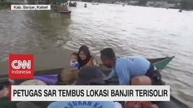 VIDEO: Petugas SAR Tembus Lokasi Banjir Terisolir