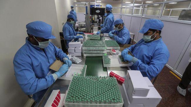 Pabrik vaksin terbesar dunia di India mencolek Biden lewat Twitter, meminta agar embargo bahan mentah vaksin dicabut.