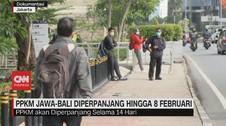VIDEO: PPKM Jawa-Bali Diperpanjang Hingga 8 Februari
