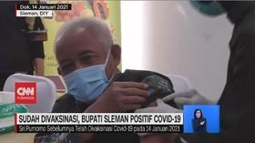 VIDEO: Sudah Divaksinasi, Bupati Sleman Positif Covid-19