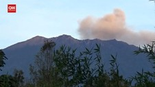 VIDEO: Gunung Rawung Erupsi, Disertai Gempa Tektonik