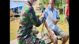 VIDEO: Satgas Kesehatan TNI Obati Korban Gempa Mamuju