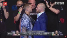 VIDEO: Detik-detik Menegangkan McGregor dan Poirier Faceoff
