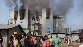 VIDEO: Pabrik Pembuat Vaksin Covid-19 India Terbakar, 5 Tewas