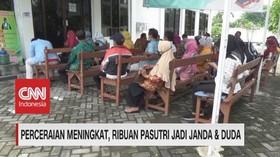 VIDEO: Penceraian Meningkat, Ribuan Pasutri Jadi Janda & Duda