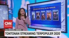 VIDEO: Tontonan Streaming Terpopuler 2020
