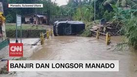 VIDEO: Banjir dan Longsor Manado