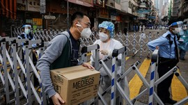China Lockdown 2,7 Juta Warga Demi Lawan Covid Varian Delta