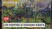 VIDEO: Live Painting di Kawasan Wisata