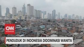 VIDEO: Penduduk di Indonesia Didominasi Wanita