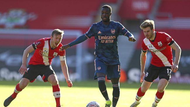 Southampton sukses mendepak Arsenal dari babak keempat Piala FA usai menang 1-0, Sabtu (23/1) malam WIB.