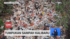 VIDEO: Tumpukan Sampah Kalibaru