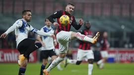 Rebic Disanksi 2 Laga karena Hina Wasit di Milan vs Napoli
