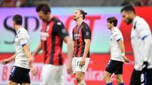 FOTO: AC Milan 'Tidur' dan Dibantai Atalanta di Liga Italia