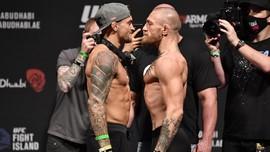 Resmi: Poirier vs McGregor di UFC 264, 10 Juli