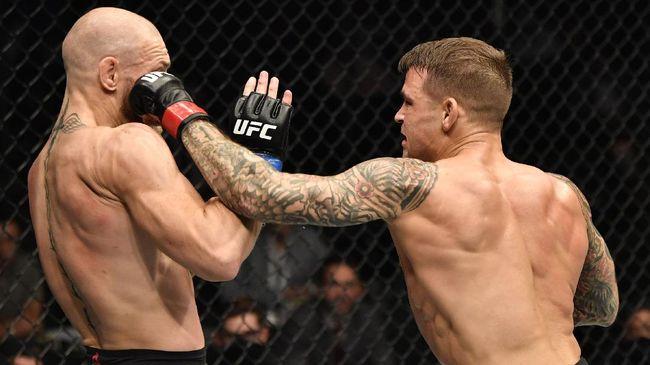 Berikut meme lucu yang beredar di media sosial usai Conor McGregor kalah TKO dari Dustin Poirier di UFC 257.