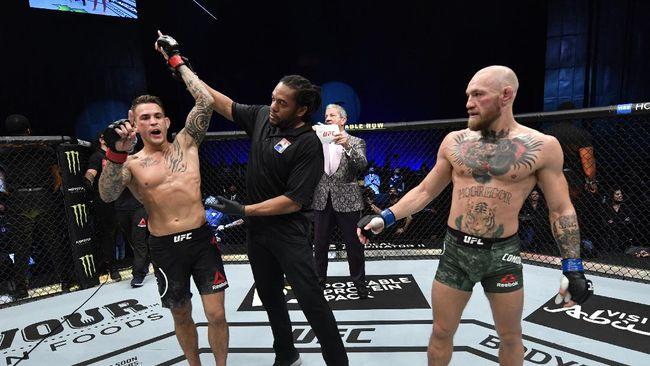 Conor McGregor mengungkapkan keinginannya untuk kembali menghadapi Dustin Poirier usai kalah TKO di UFC 257.