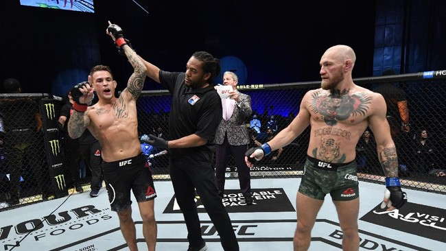Poirier Ingin Trilogi Lawan McGregor di UFC Juni