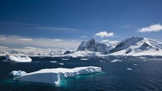 Es di Laut Arktik Mencair Dua Kali Lebih Cepat