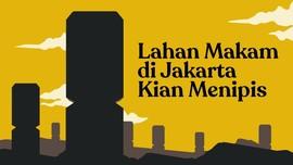 INFOGRAFIS: Lahan Makam di Jakarta Kian Menipis