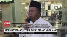 VIDEO: Siswi Harus Berjilbab, Kepala SMKN Padang Minta Maaf