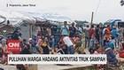 VIDEO: Puluhan Warga Hadang Aktivitas Truk Sampah