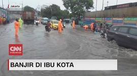 VIDEO: Sejumlah Ruas Jalan di Jakarta Terendam Banjir