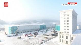 VIDEO: Kasus Positif Naik, China Bangun Pusat Karantina