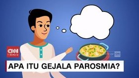 VIDEO: Apa Itu Gejala Parosmia?