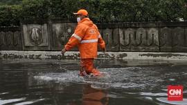 Hujan Deras, Rumah Dinas Anggota DPR di Kalibata Tergenang