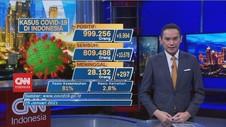 VIDEO: Bertambah 9.994, Total Kasus Covid-19 Menjadi 999.256