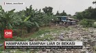 VIDEO: Hamparan Sampah Liar di Bekasi