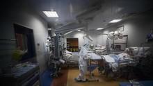 FOTO: Kematian Covid-19 Italia Tertinggi Kedua di Eropa