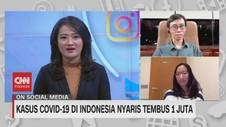 VIDEO: Kasus Covid-19 di Indonesia Nyaris Tembus 1 Juta
