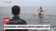 VIDEO: Mahasiswa Ciptakan Motor Sampah Laut