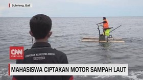 VIDEO: Mahasiswa Ciptakan Motor Sampah Laut