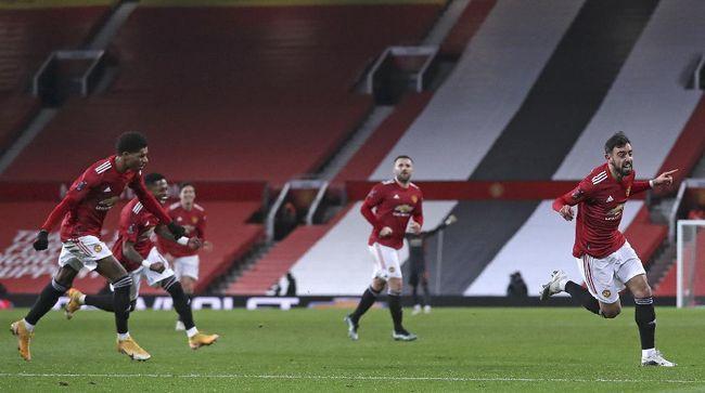 Solskjaer membuat keputusan tepat ketika menurunkan Bruno Fernandes di pertengahan babak kedua  Manchester United vs Liverpool.