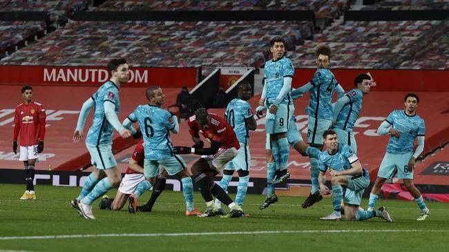 Berikut prediksi susunan pemain Manchester United vs Liverpool dalam laga lanjutan Liga Inggris.