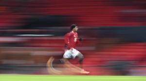 FOTO: Man Utd Tendang Liverpool di Piala FA