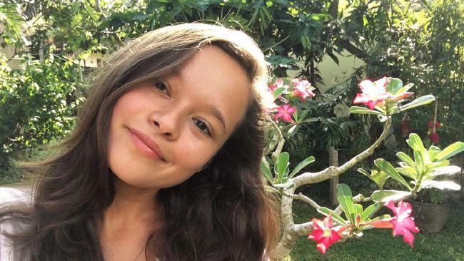 Melati Wijsen, remaja Bali inisiator gerakan setop kantong plastik yang belakangan menjadi pembicara di program dialog Time 100 Talks.