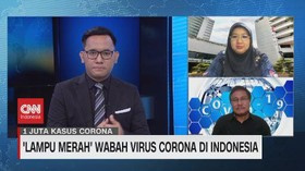 VIDEO: 'Lampu Merah' Wabah Virus Corona di Indonesia