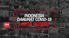 VIDEO: Indonesia Darurat Covid-19, 1 Juta Positif