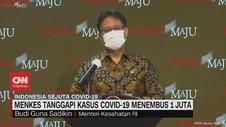 VIDEO: Menkes Tanggapi Kasus Covid-19 Menembus 1 Juta