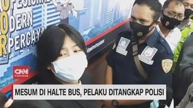 VIDEO: Pelaku Mesum Wanita di Halte Diberi Imbalan Rp 22 Ribu