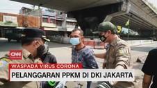 VIDEO: Pelanggaran PPKM di DKI Jakarta